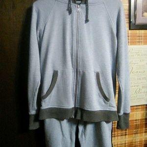 Mid calf sweat suit